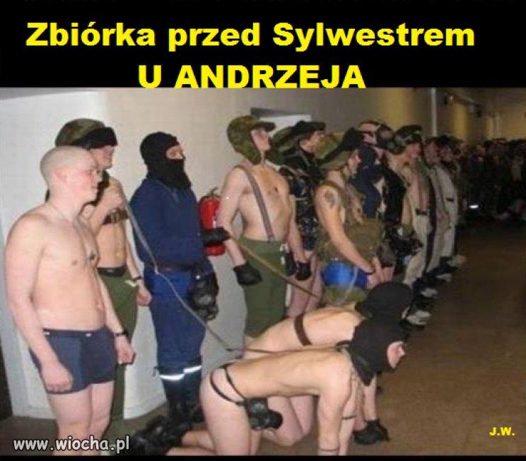 Sylwester u Andrzeja !!!