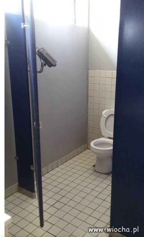 Bardzo dyskretna toaleta