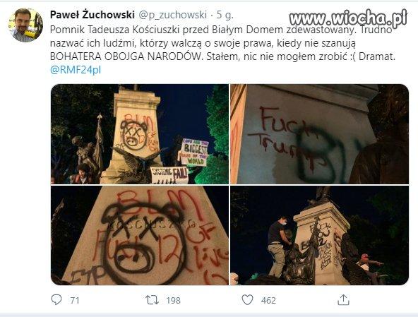 Pomnik-Tadeusza-Kosciuszki-przed-Bialym-Domem