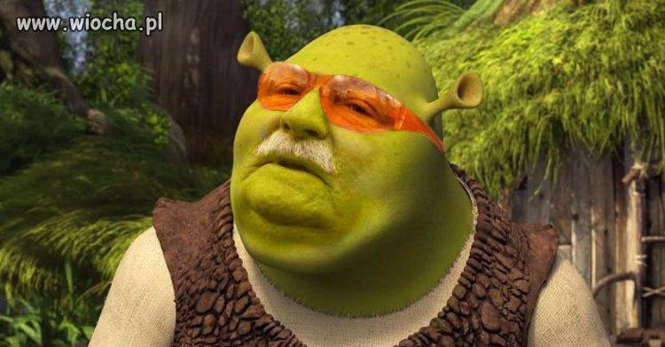 Lech-Walesa-jako-Shrek