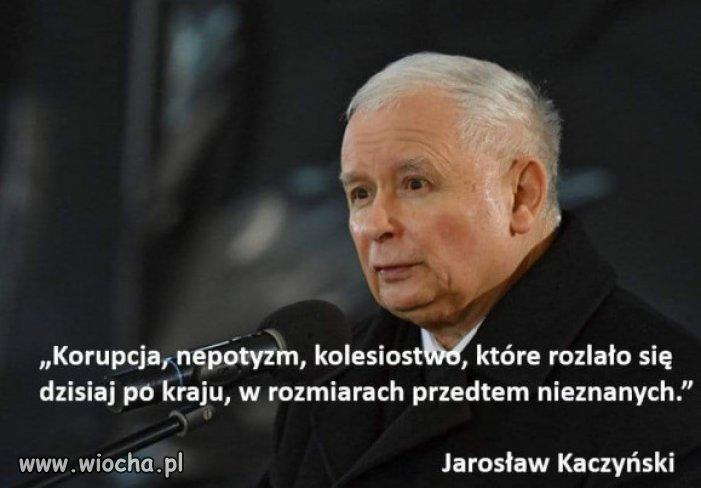 Wizjoner Kaczynski...