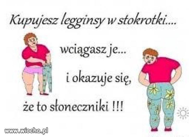 Kobiety i legginsy