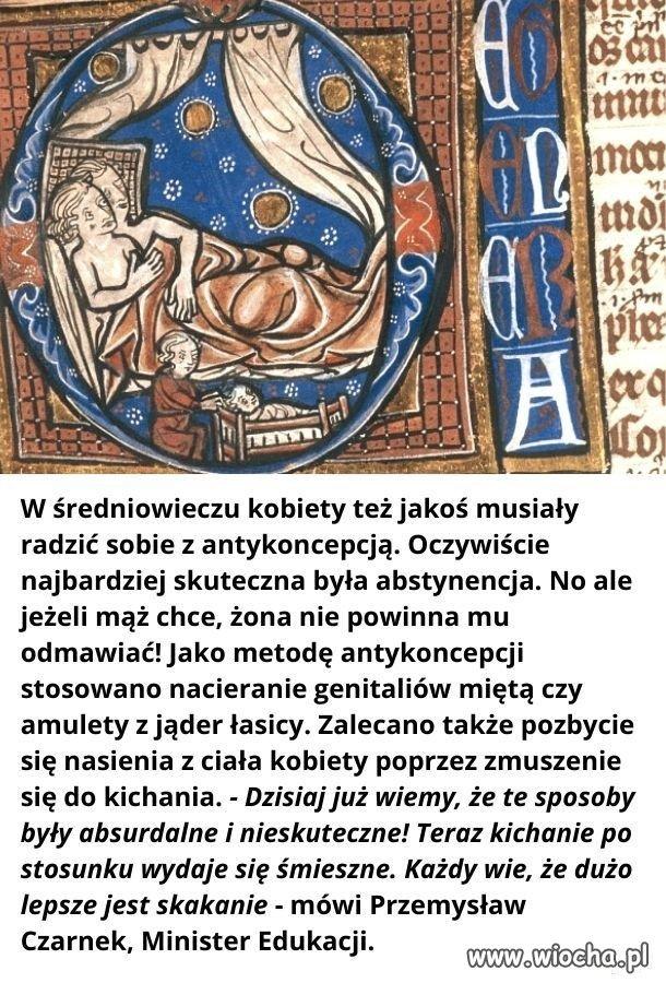 Antykoncepcja-sredniowiecze