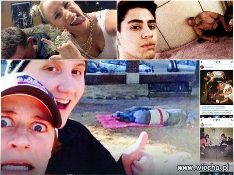 Nowo-moda---selfie-z-bezdomnymi-symbol-glupoty
