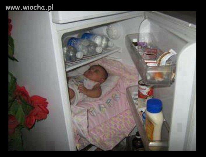 Dziecko-w-lodowce