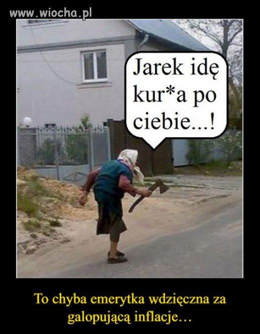 Pozdrowienia od emerytow dla Jaroslawa...