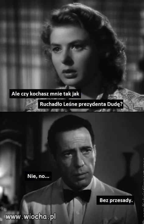 Andrzej Duda i Jolka Rosiek.