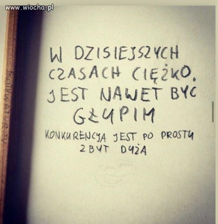 Smutna prawda...