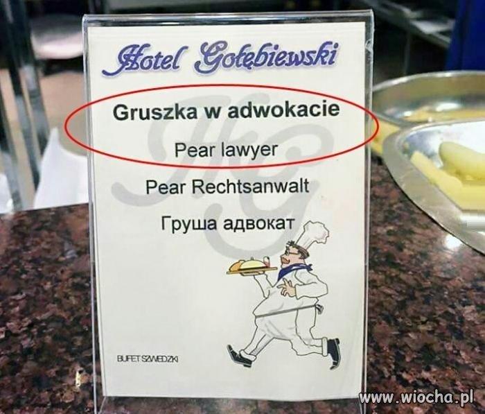 Lawyer to nawet nie jest adwokat...