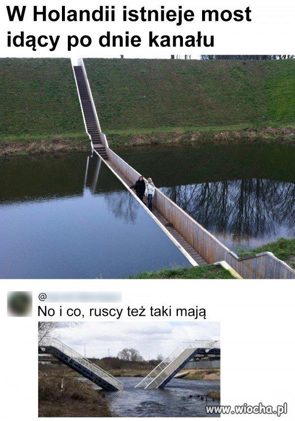 Most po dnie
