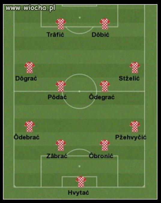 Jedenastka Chorwacji