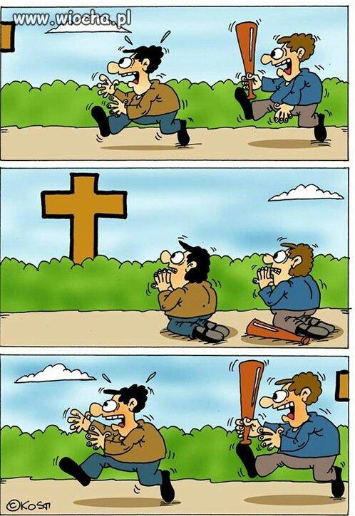 Bycie katolikiem w tym czasie w tym kraju