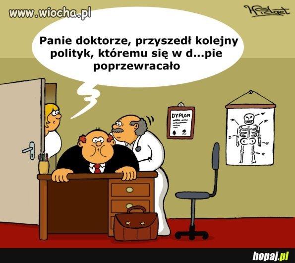 Polityk u lekarza