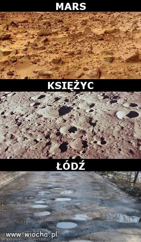 Krajobraz planet