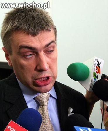 Inteligentna twarz ministra edukacji