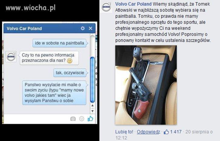 Tomek-trollowal-Volvo