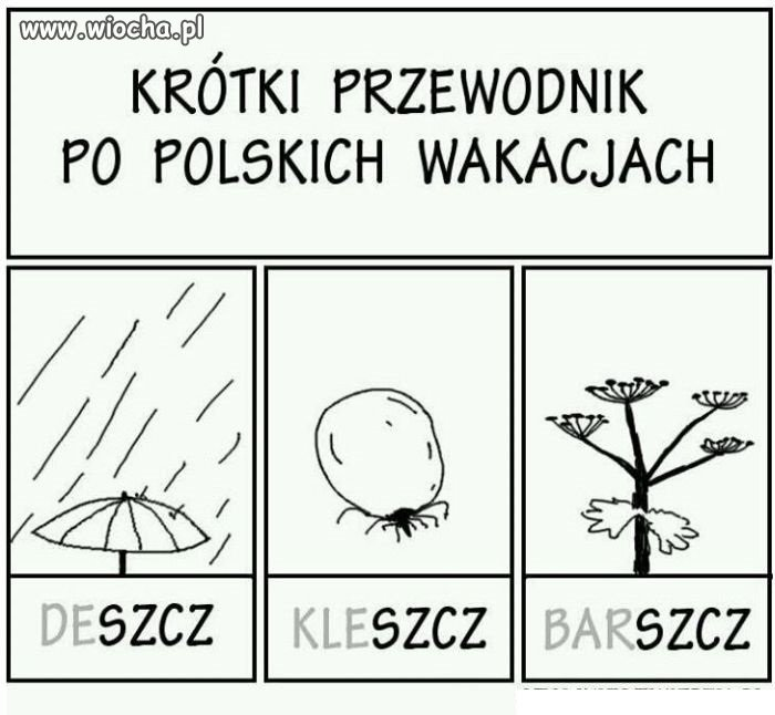 Wakacje po polsku