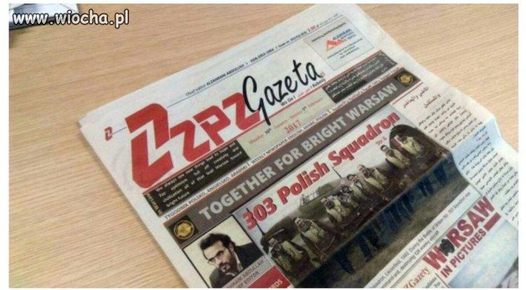 Pierwszy tygodnik polsko-arabski