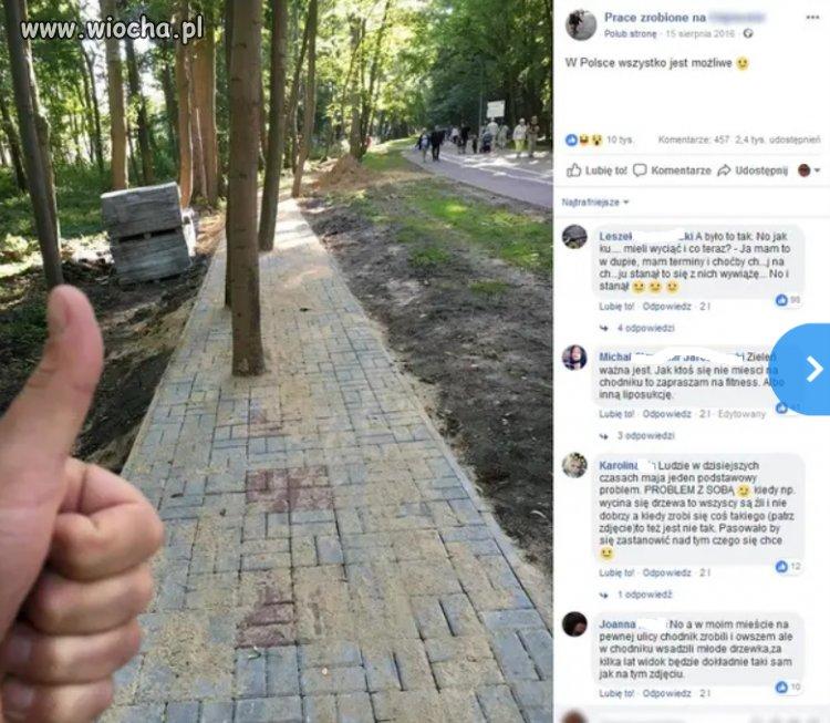 Chodnik-w-Kolobrzegu