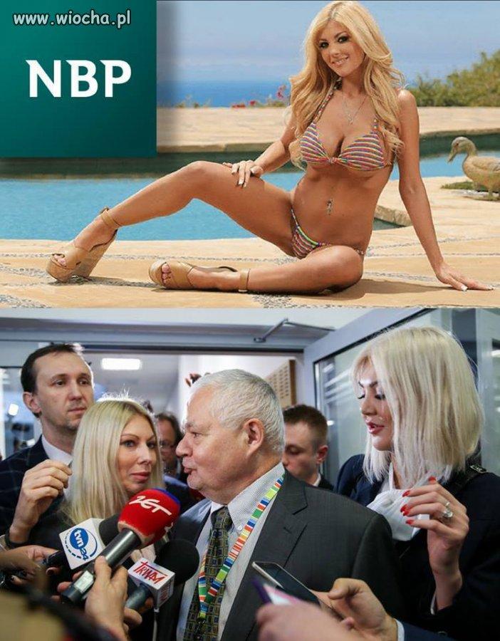 Powabna pani dyrektor NBP