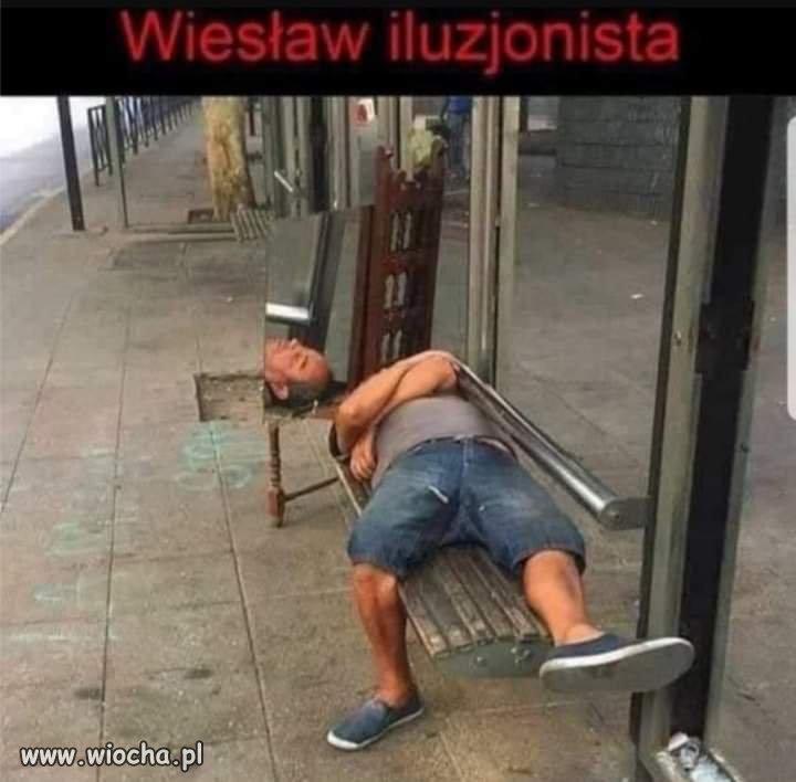 Wieslaw-iluzjonista