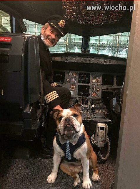 Lecimy i pilot jest z nami...