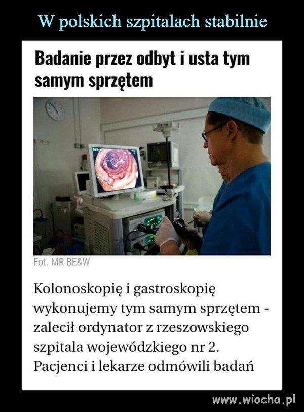 Polskie szpitale...