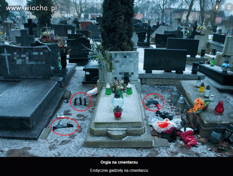 Orgia na cmentarzu w Bydgoszczy