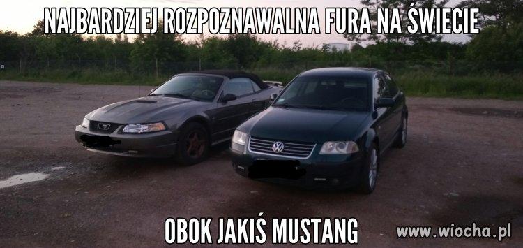 Passat i Mustang