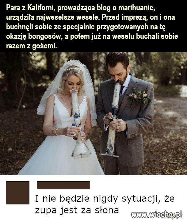 Takie wesele to ja rozumiem
