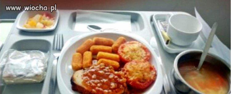 Szpitalne jedzenie za podstawowe ubezpieczenie
