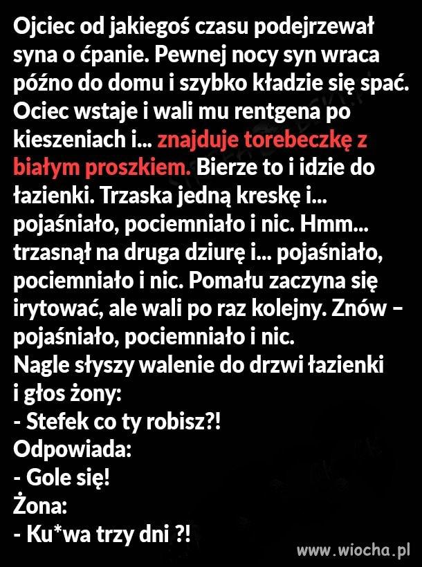 Bialy-proszek