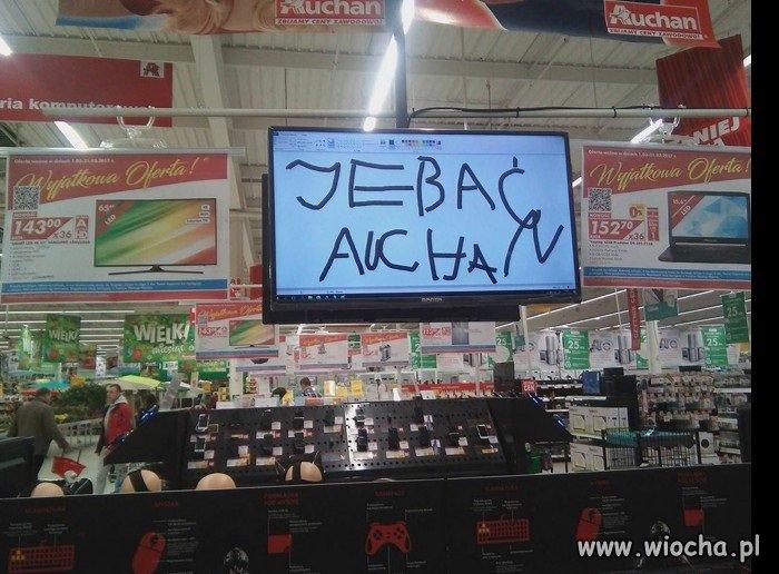 Tymczasem w Auchanie