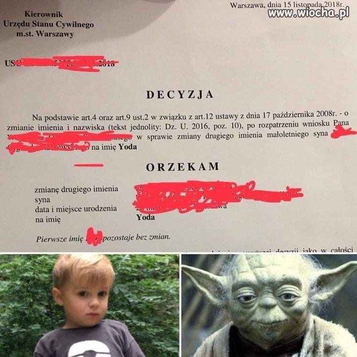 Pewnie fan Star Wars