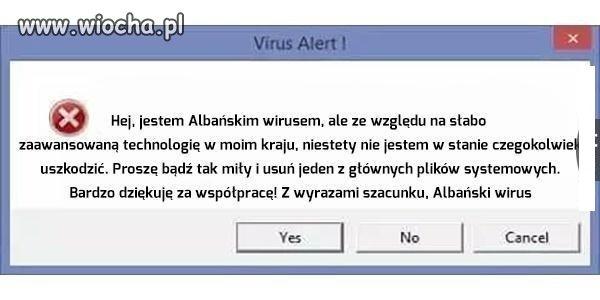 Albanski-wirus