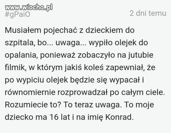 Jutuba, olejek i Konrad