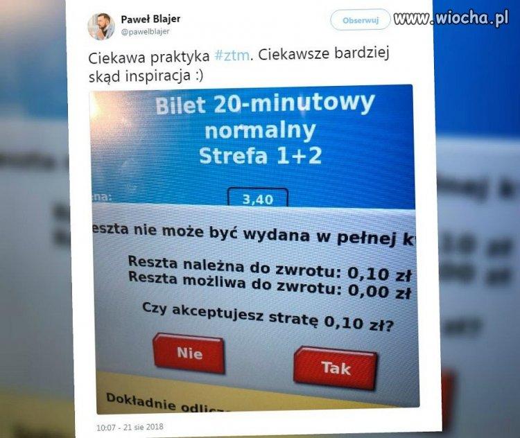 ZTM w Warszawie