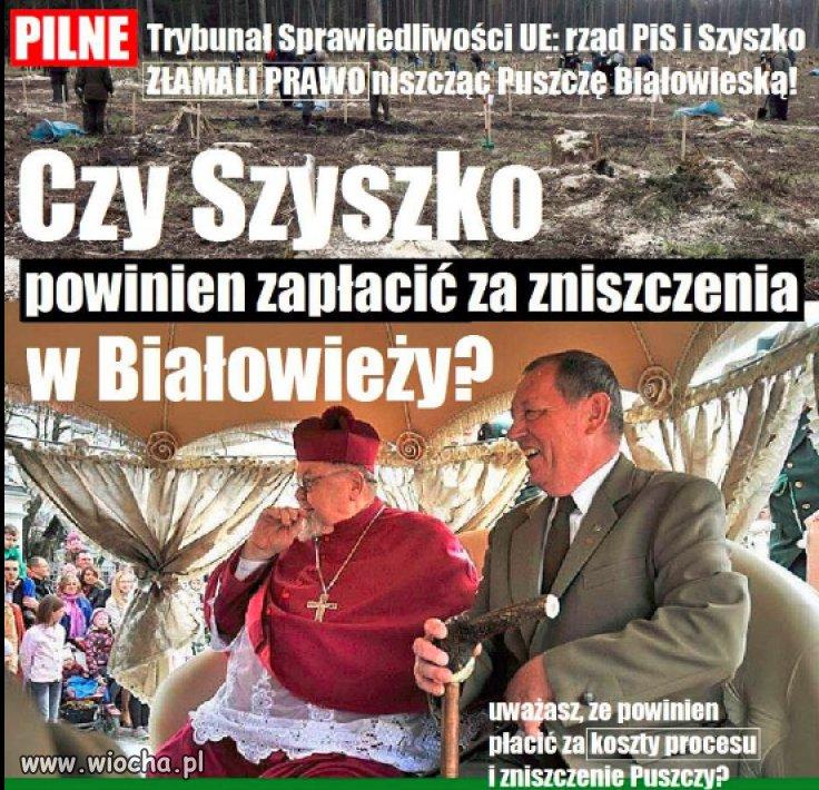 Trybunal-orzekl-ze-Szyszko-zlamal-prawo