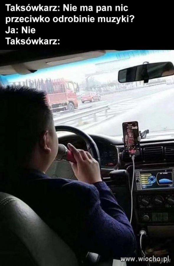 Karaoke taxi drive