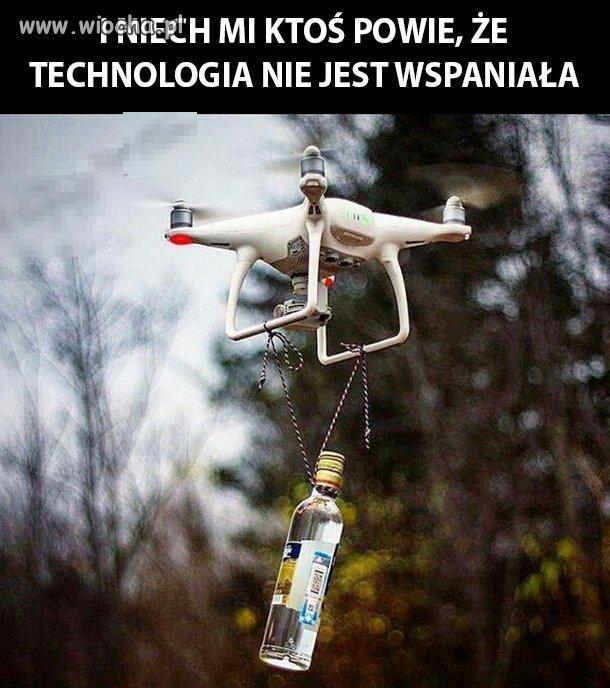 Prawdziwe zastosowanie drona