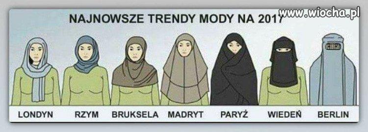 Najnowsze trendy mody