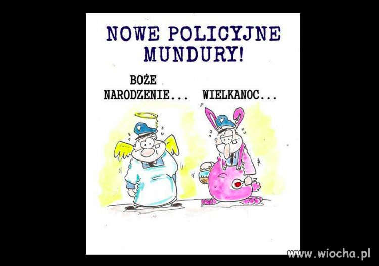 Nowe policyjne mundury