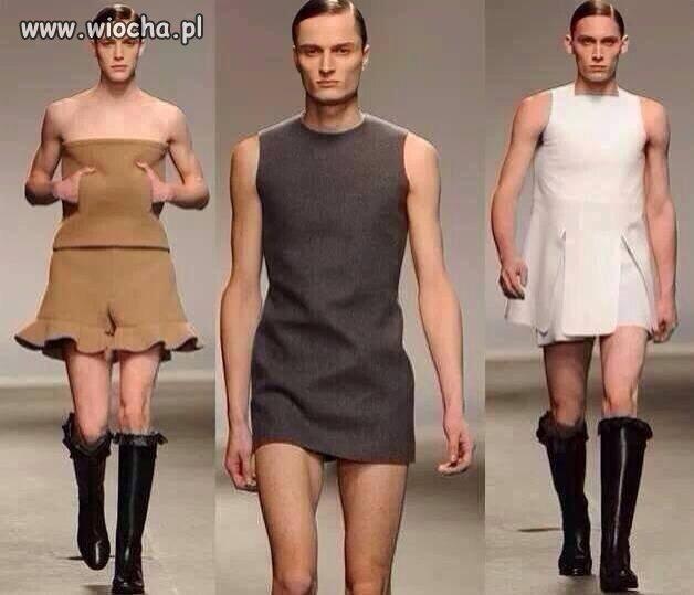 Gender fashion...