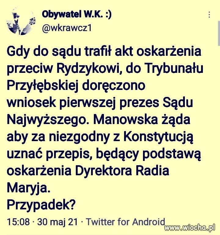 Tadeusza PiS nie rusza ...