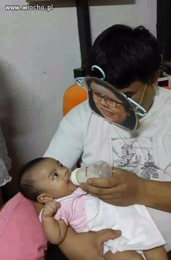 Mleko od mamy zawsze smakuje