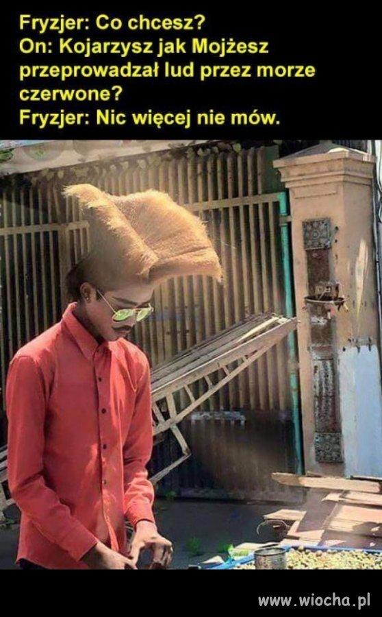 Fryzjer zrozumie