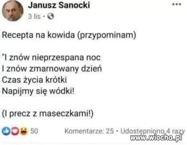 Byly-posel-Janusz-Sanocki-zmarl-na-COVID-19