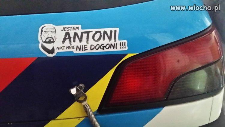 Jestem Antoni...Drugi Polak w F1