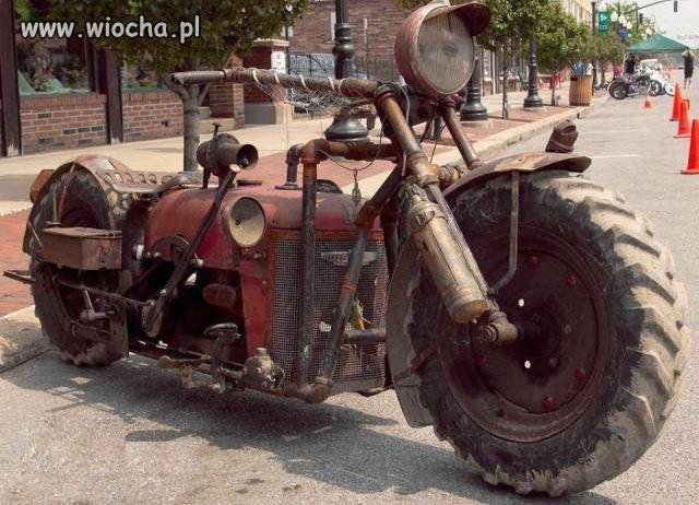 Motocykl-ciagnika