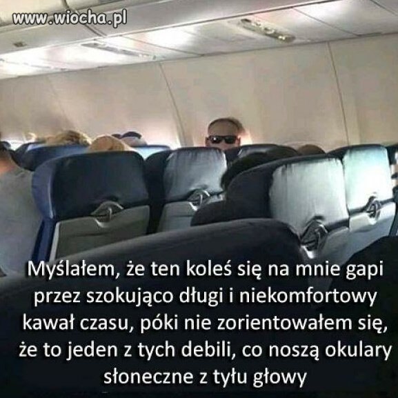 Takie tam z samolotu